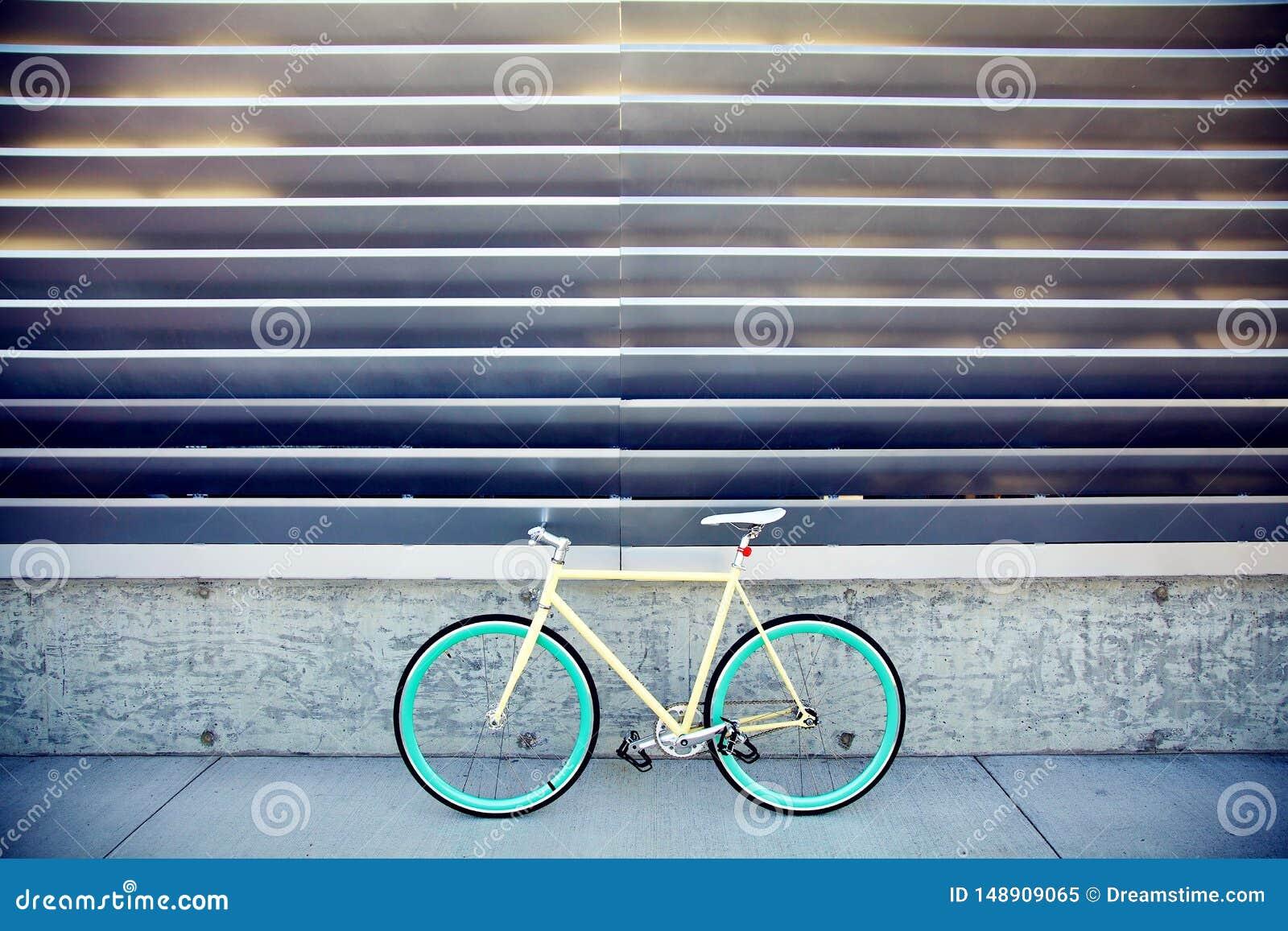 Fast kugghjulcykel