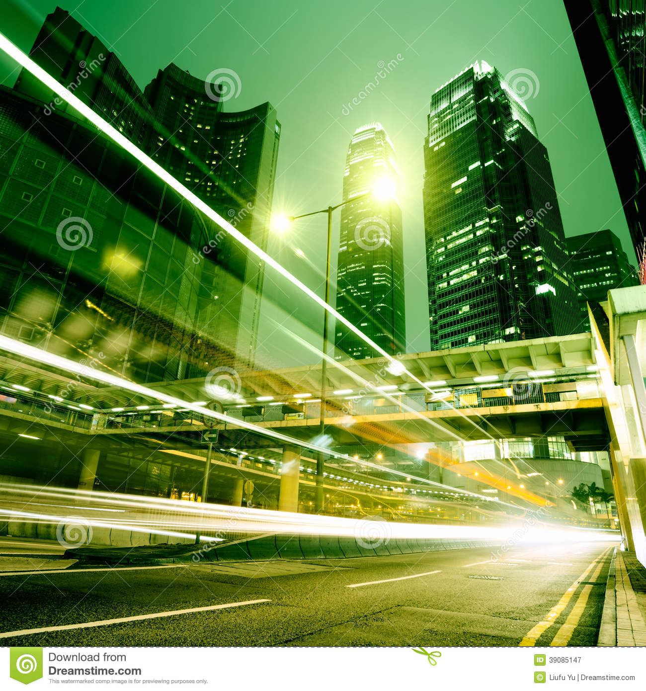 Fast Moving Cars Stock Image. Image Of Evening, District