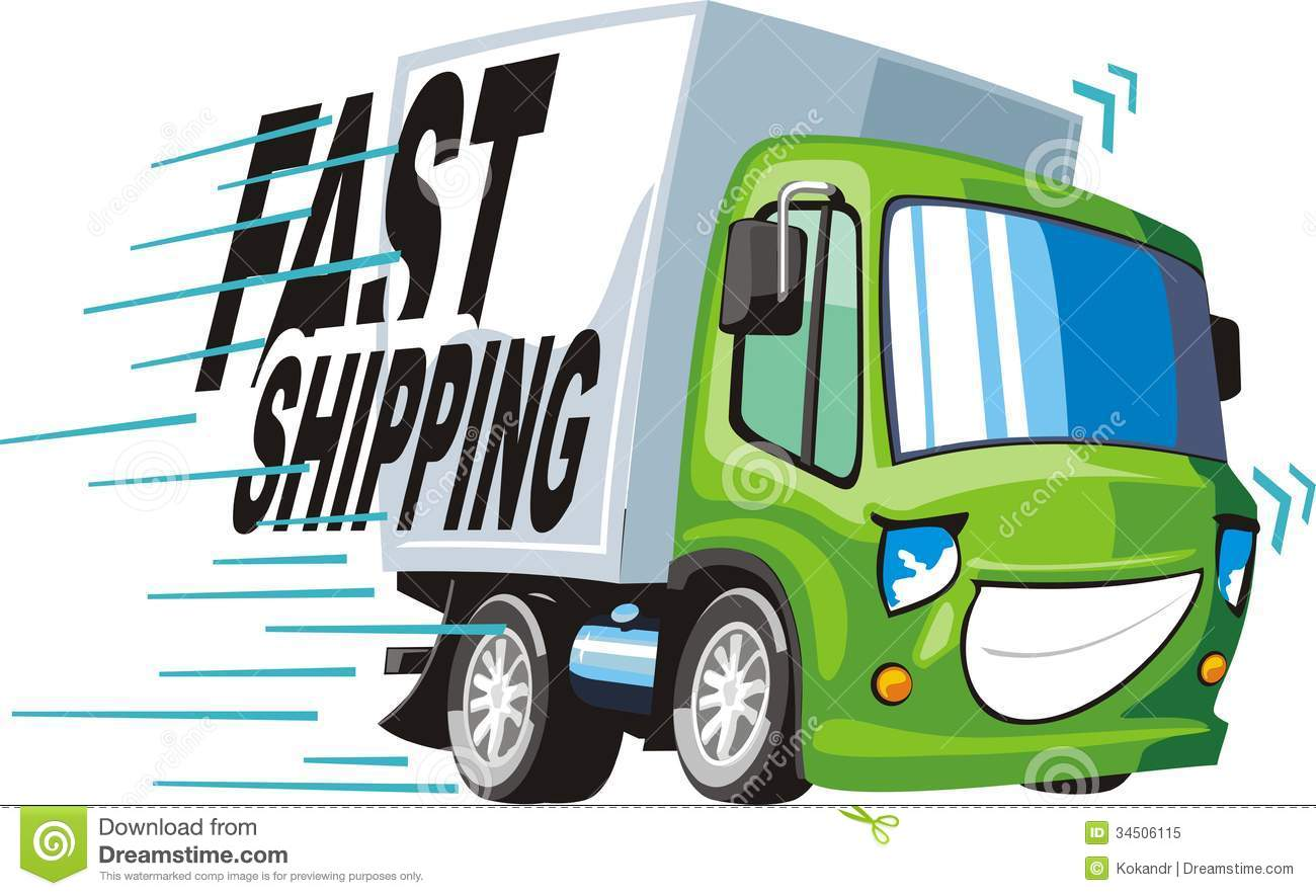 Fast Shipping Royalty Free Stock Photo - Image: 34506115