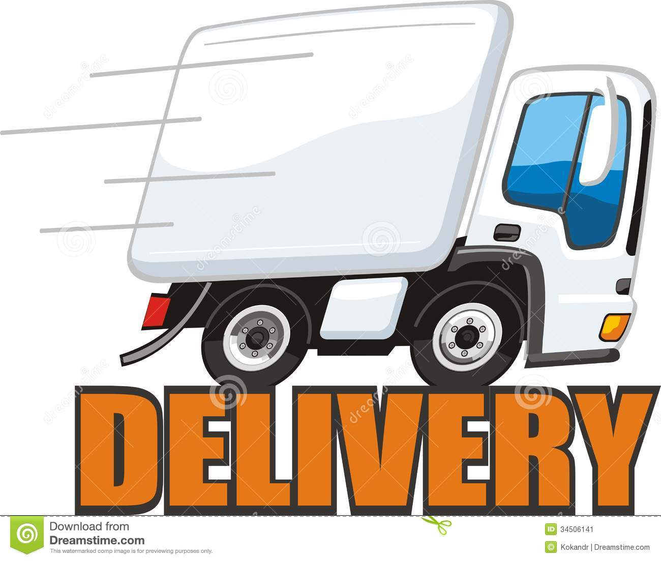 Fast Shipping Stock Image - Image: 34506141
