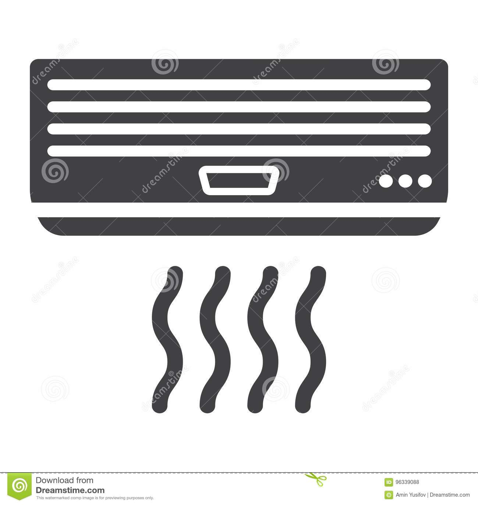 Fast symbol, elkraft och anordning för luftkonditioneringsapparat