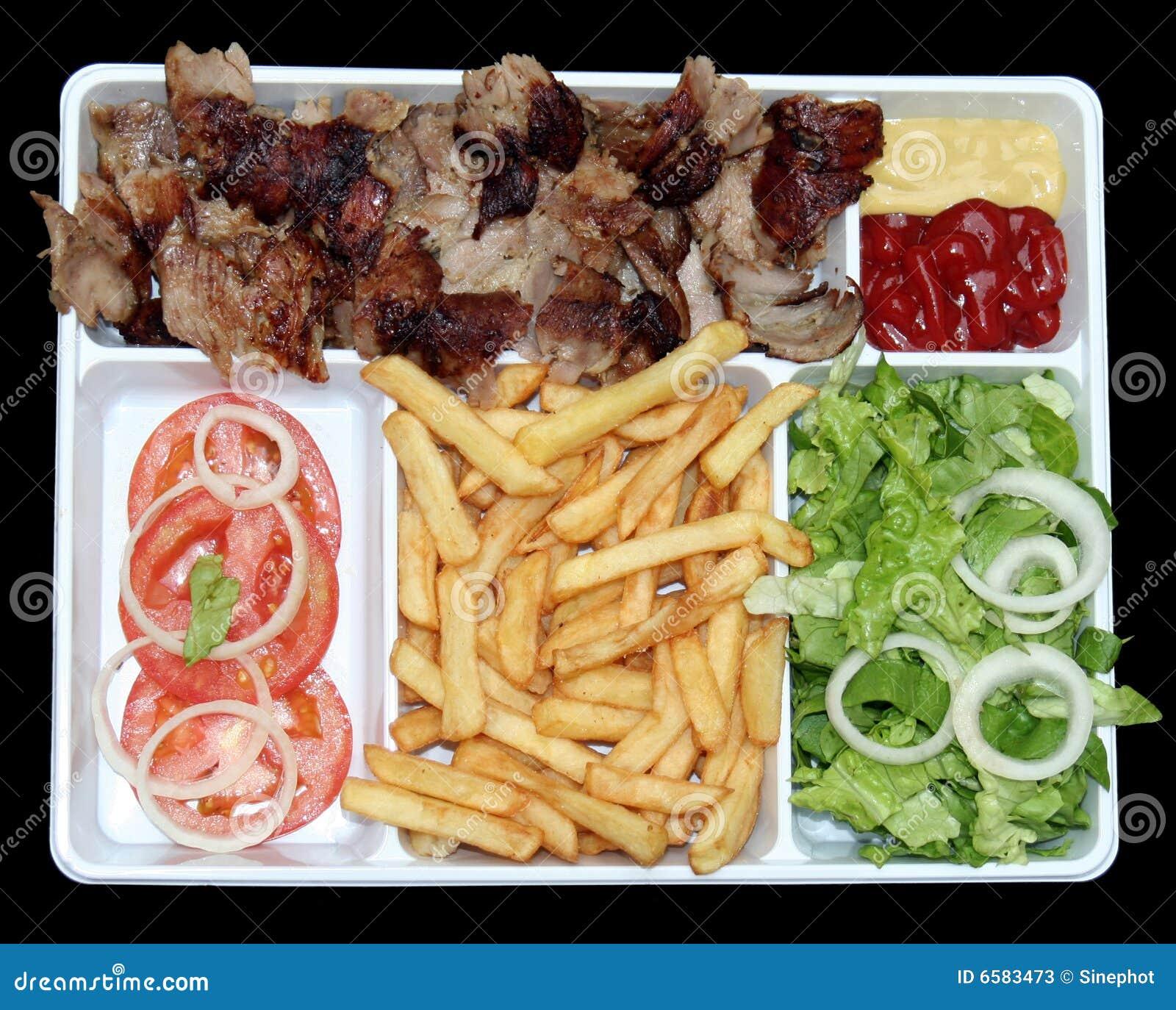 Fasta food kebab