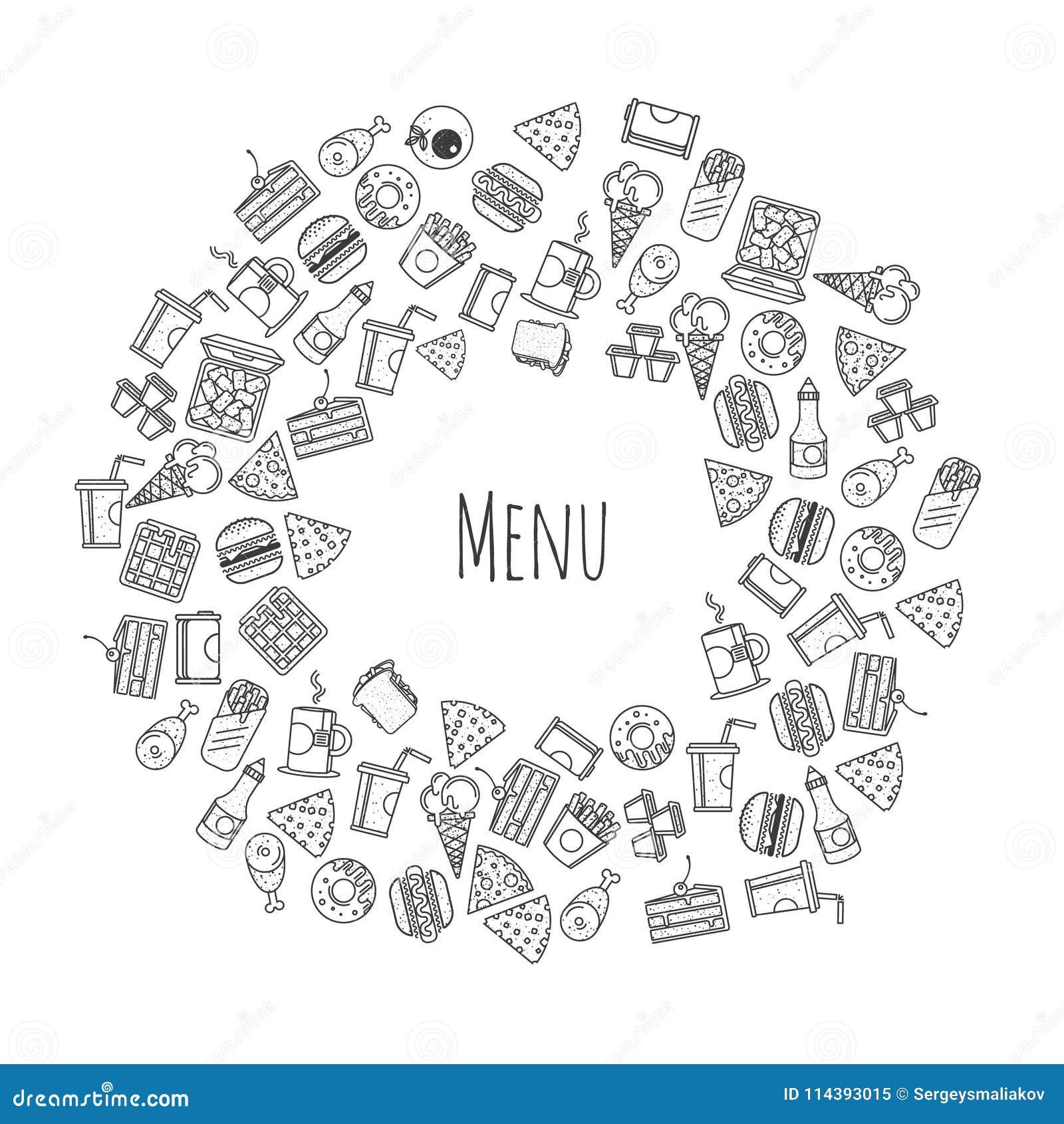 Fasta food menu