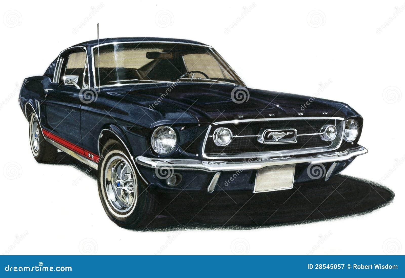 Cl Mustang >> Fastback 1967 Da GT Do Mustang De Ford Fotografia ...