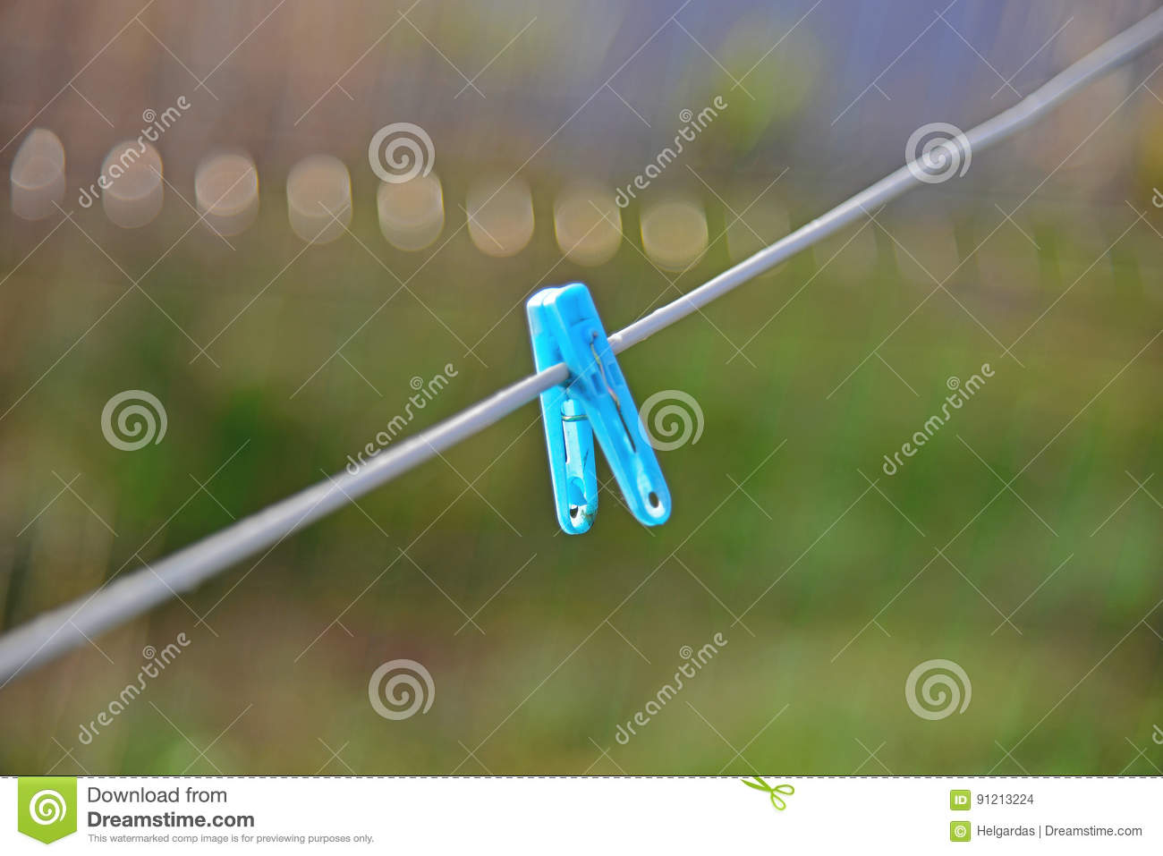 Fastener on a rope