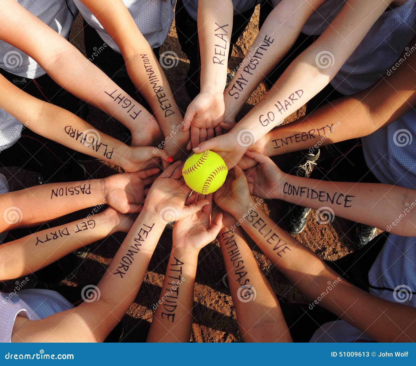 Fastpitch Softball Motivation Circle