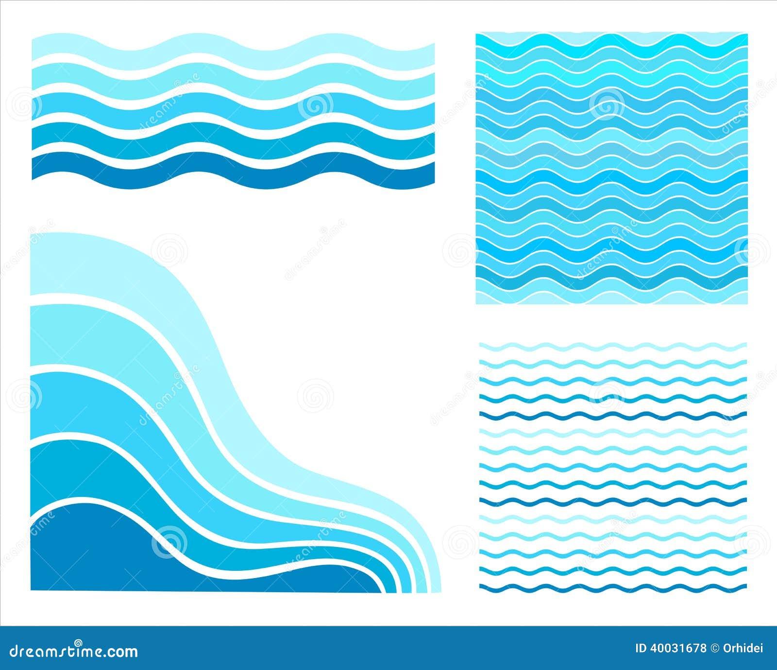Fastställda blåttvågor