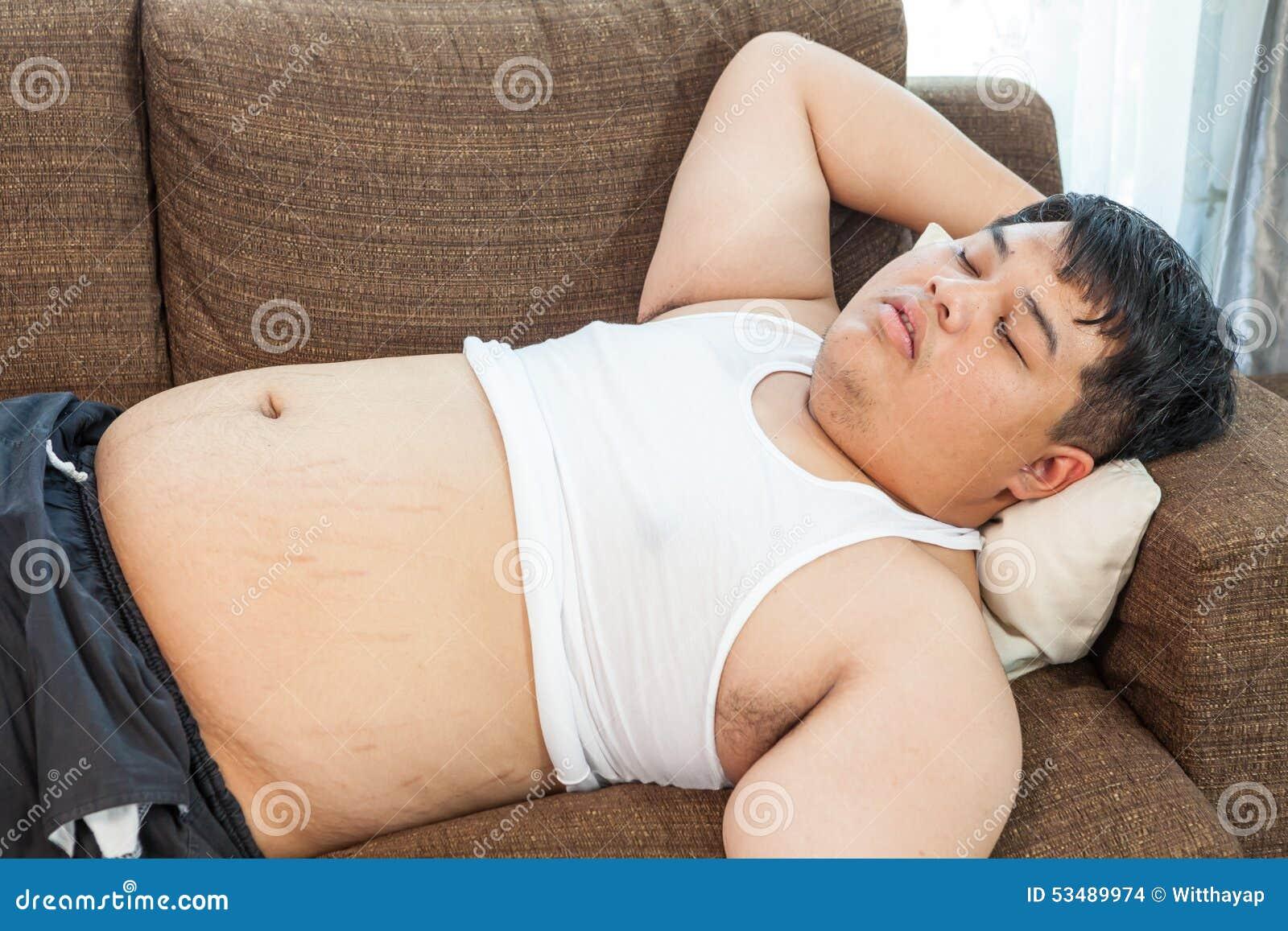 Japan fat man chubby