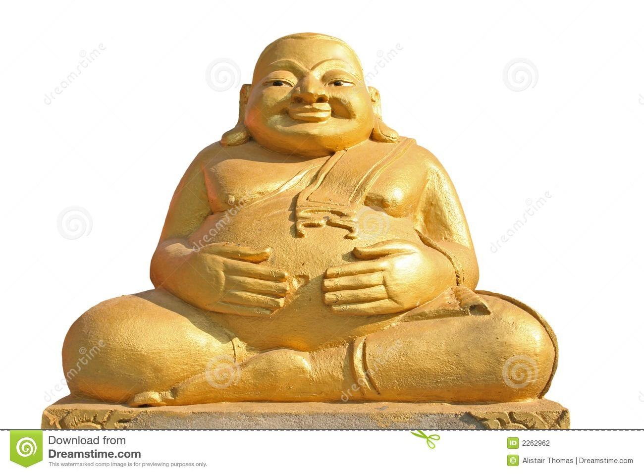 fat buddha statue stock photo image of laughing orient. Black Bedroom Furniture Sets. Home Design Ideas