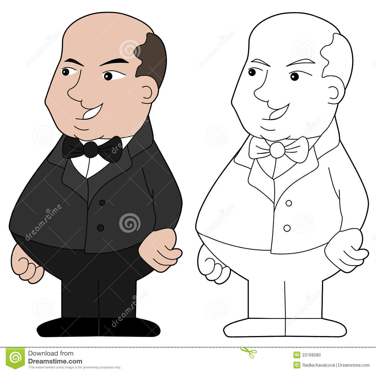 Overweight obese young man standing with his back arched and arms outstretched and a small propeller blade on his back The illustration shows of a big fat man on the weighingmachine his mouth a piece of chicken and loaves proud young man on black background