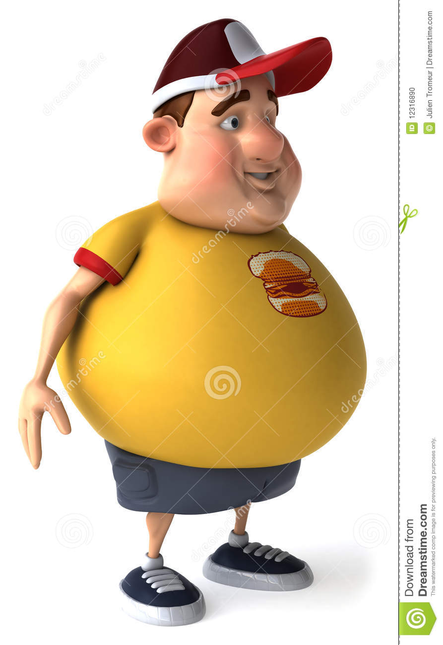 Cartoon hamburger fast food cartoon fast food cartoon cartoon pictures - Fat Kid Stock Photo Image 12316890