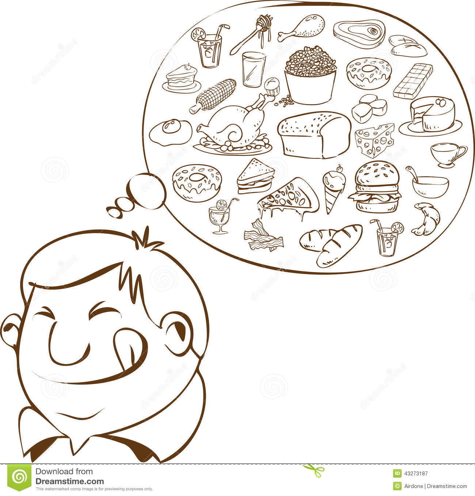 What dreams of food 100