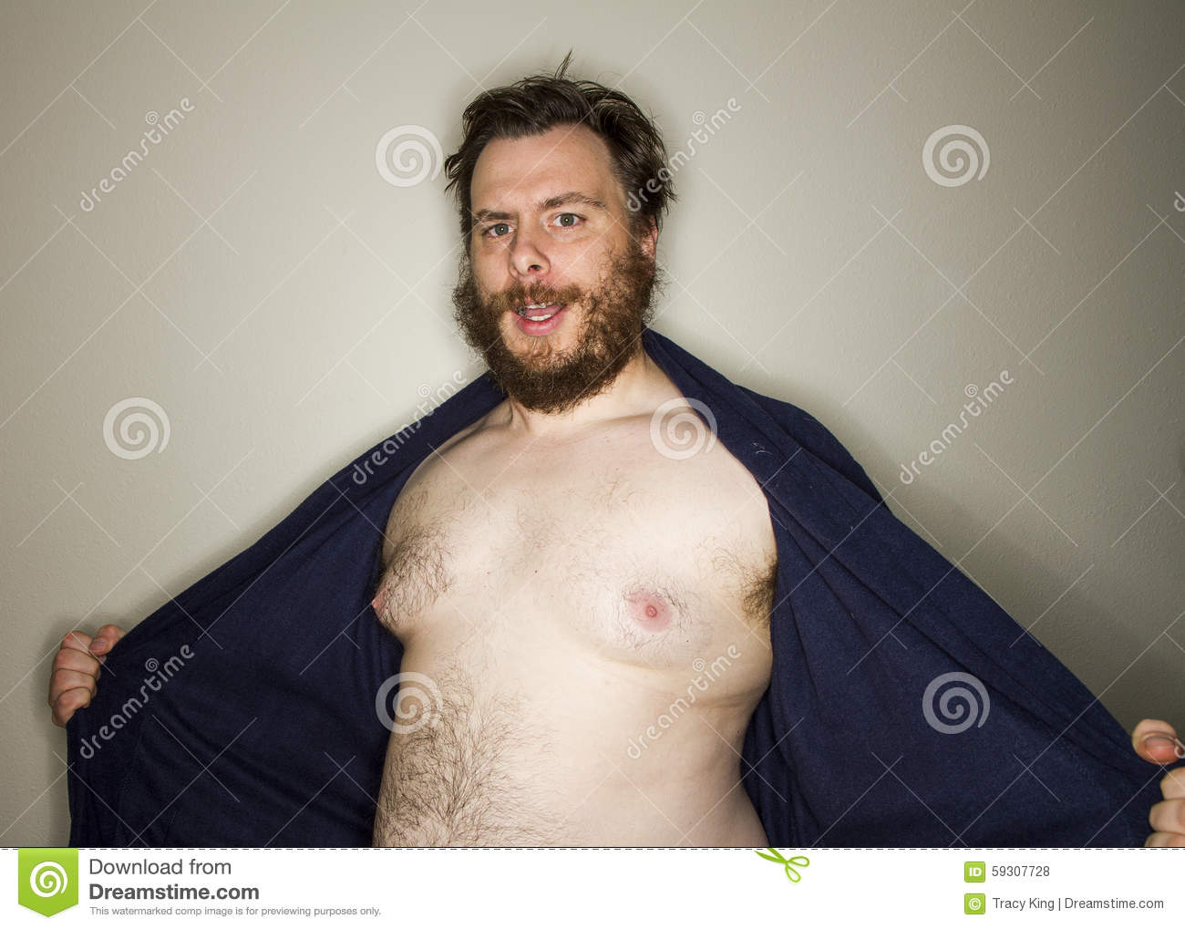Men body naked Fat