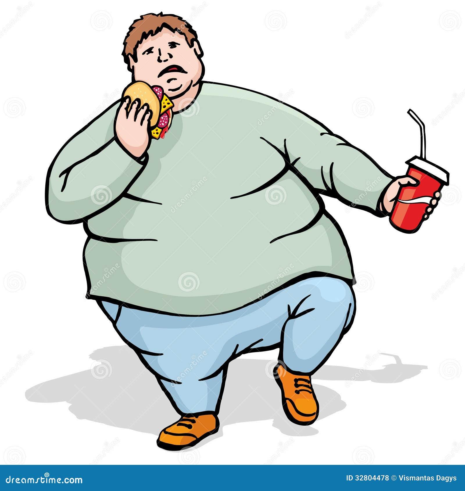 Clipart Fat Man 23