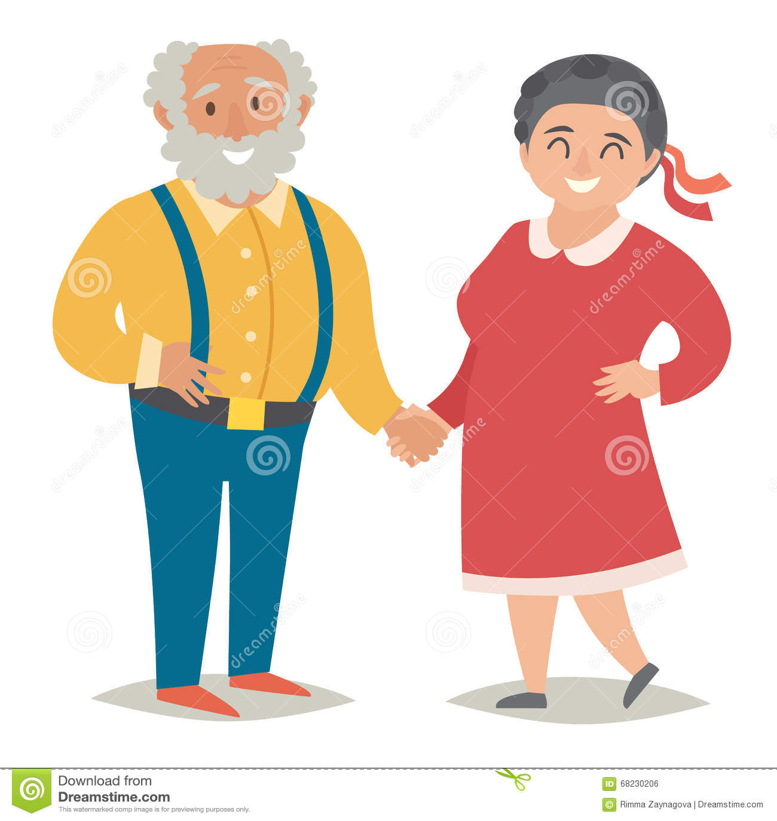 Image Gallery Happy Old People Cartoons