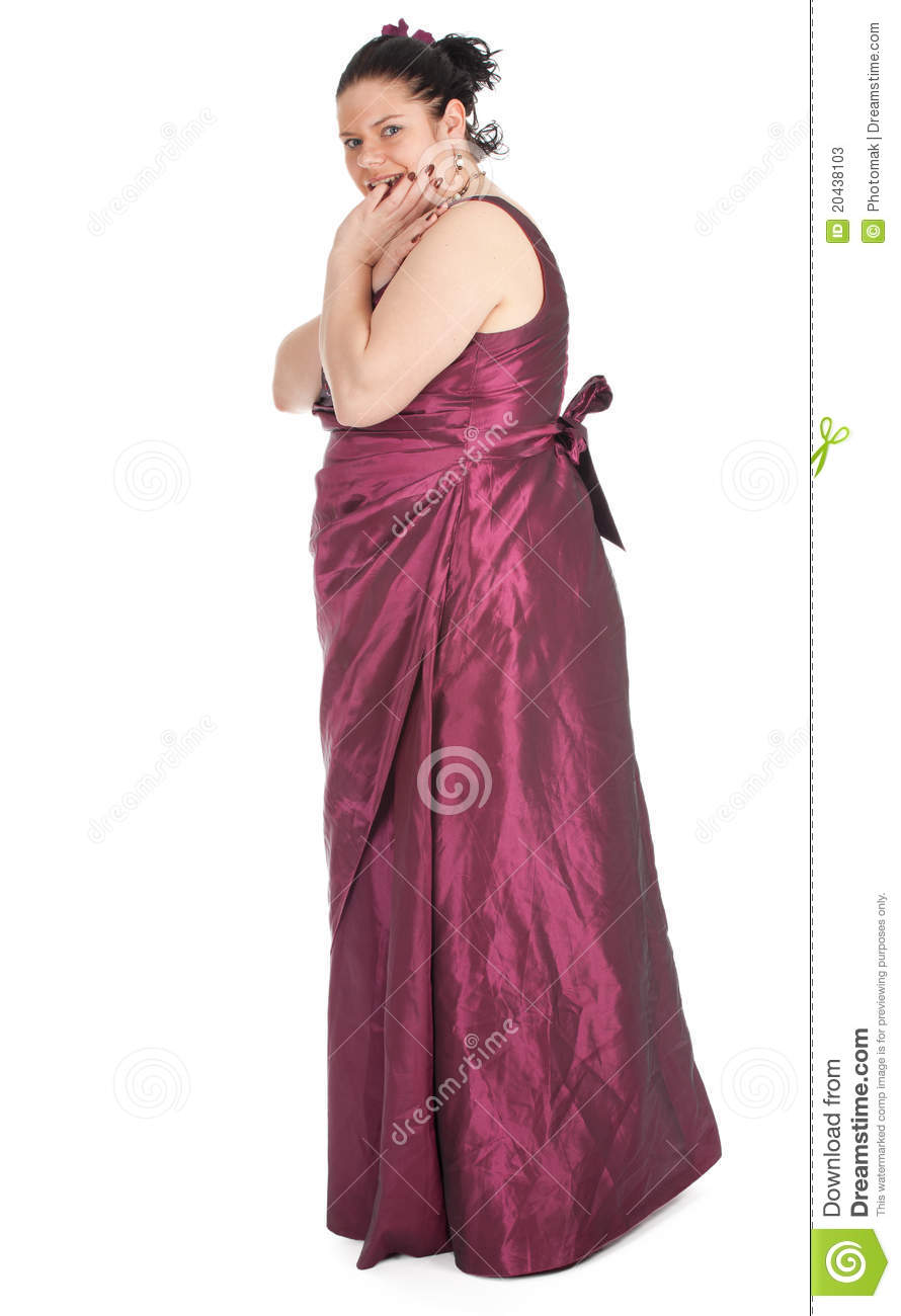 Fat Woman In Old Fashioned Ball Dress Stock Photos Image