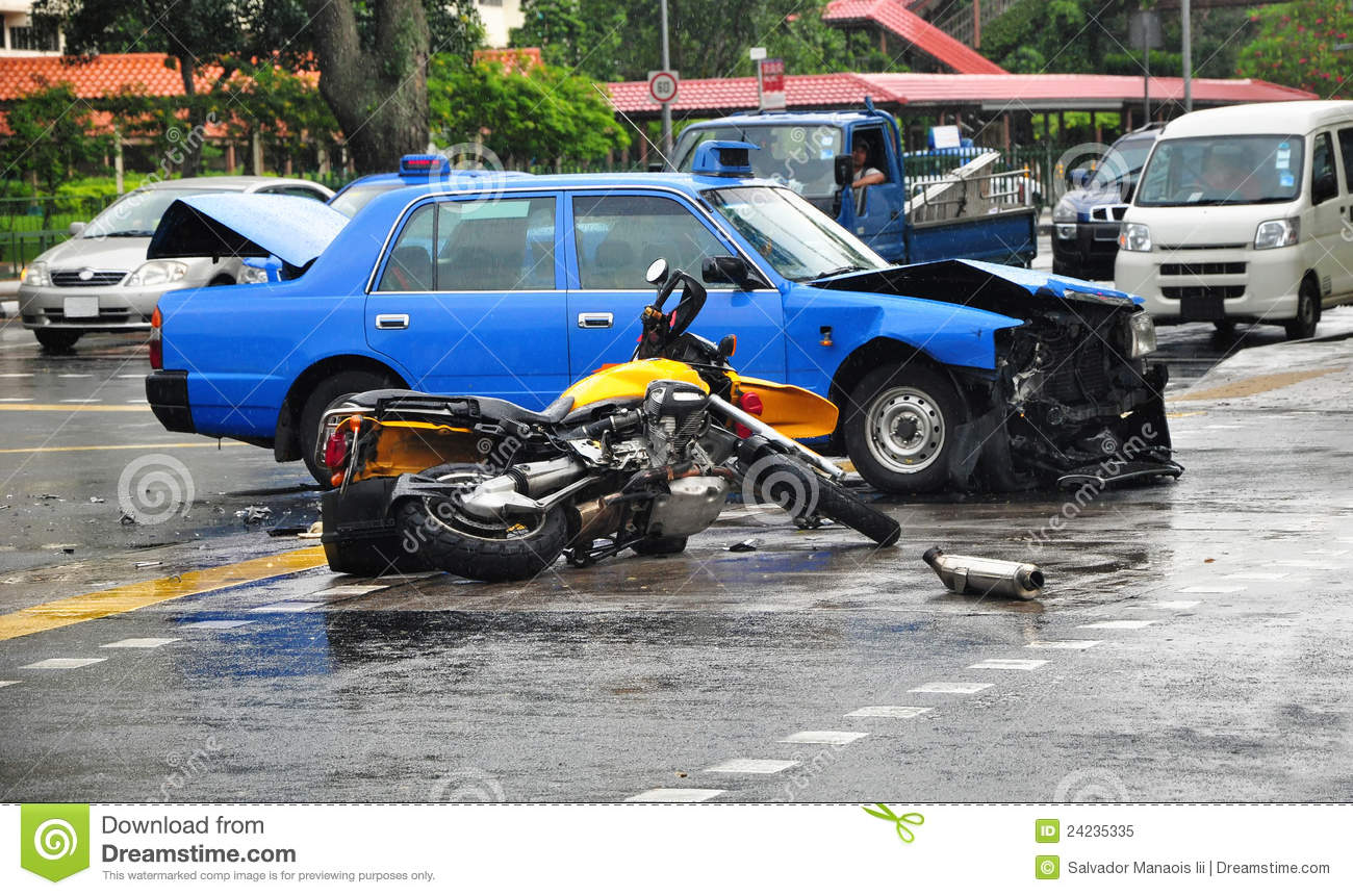 Fatal Road Accident stock image. Image of patch, crash - 24235335