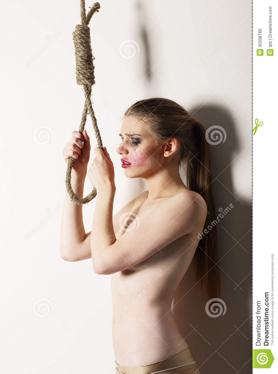 image A young woman desperate to keep her jewelry