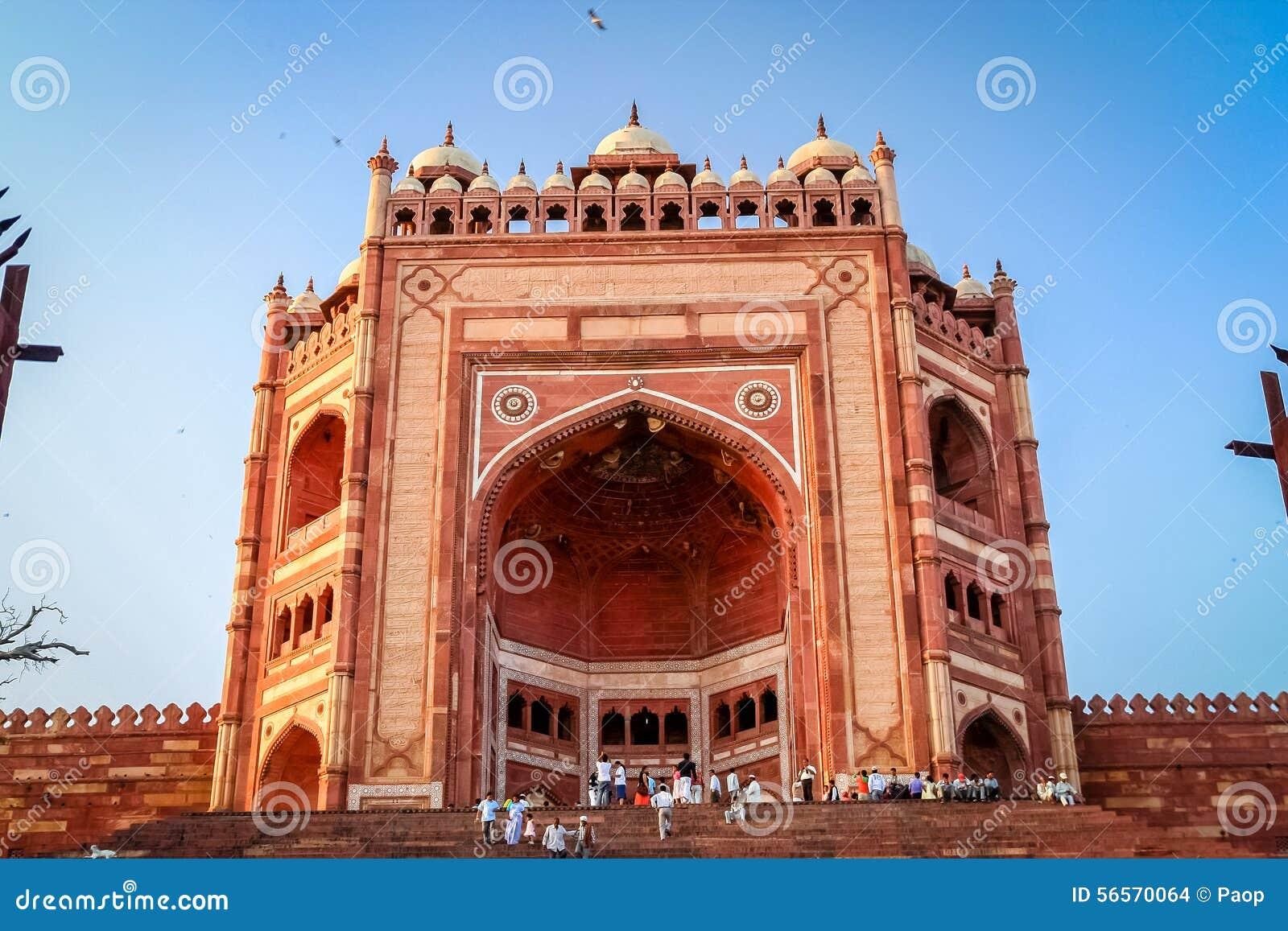 Download Fatehpur Sikri εκδοτική στοκ εικόνα. εικόνα από εντυπωσιακός - 56570064