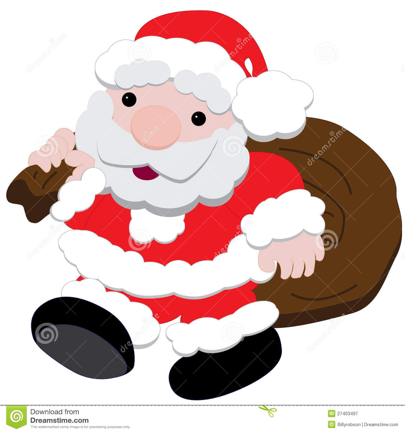 Father Christmas Images Free.Father Christmas Stock Vector Illustration Of Nick Baby