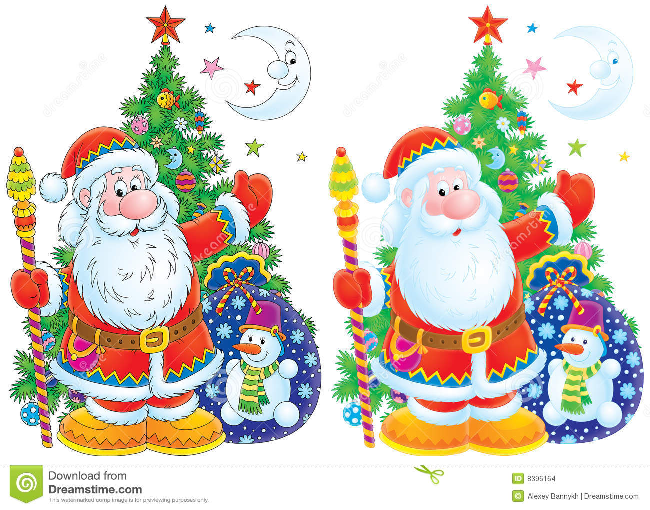 free clip art father christmas - photo #46