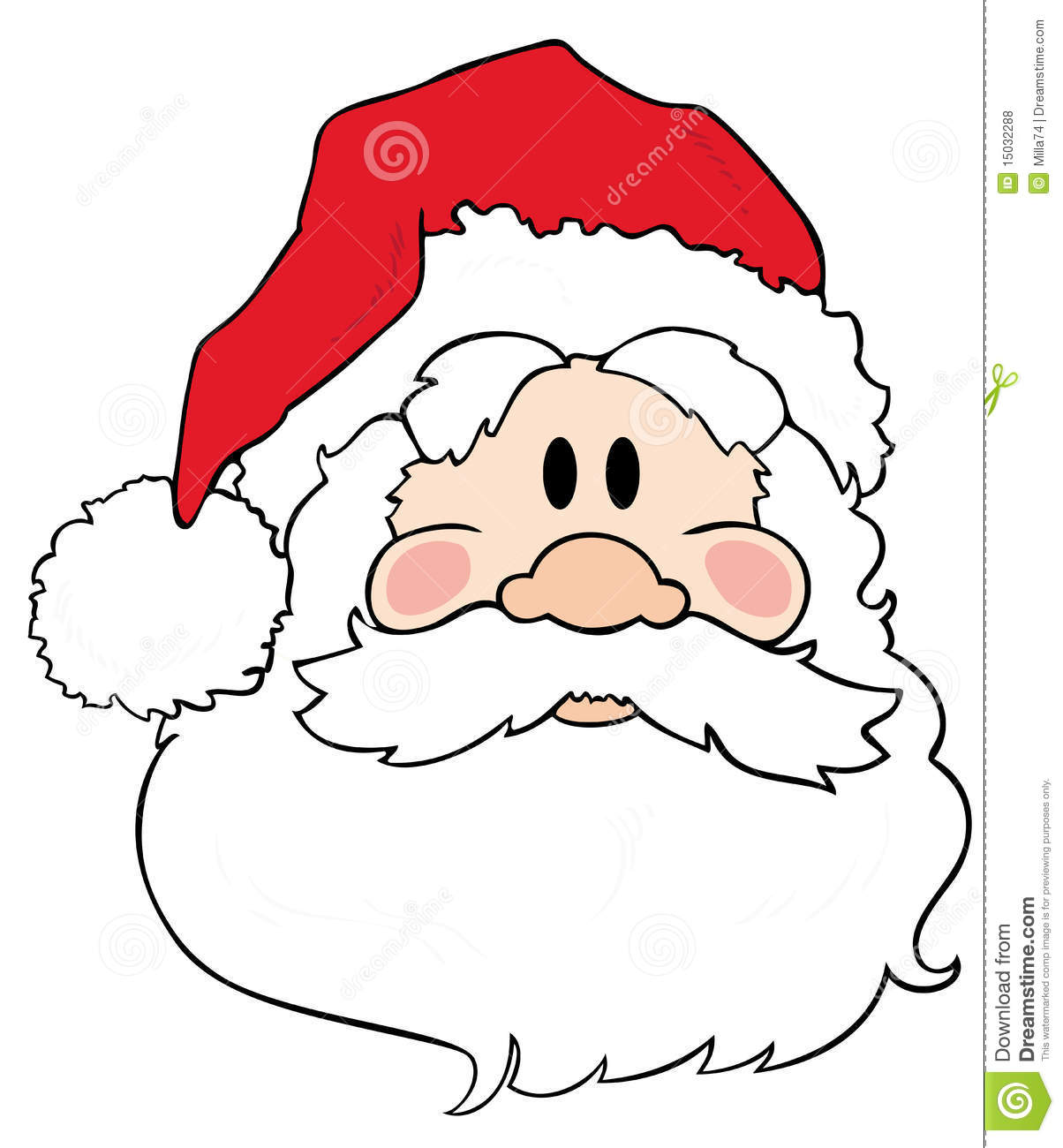 Father Christmas/Santa Claus. Royalty Free Stock Photos - Image ...