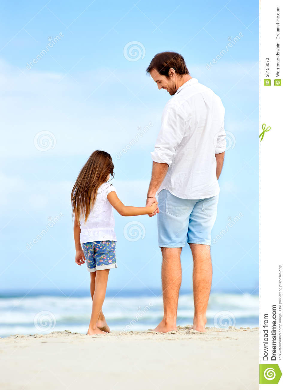 father daughter love stock photo image of family child 30156070