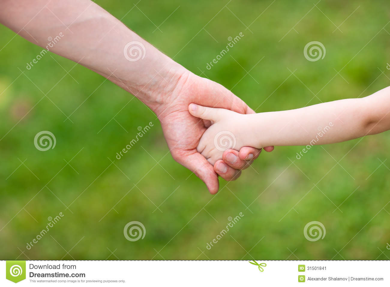 Father And Daughter Holding Hands Stock Image Image Of Touch