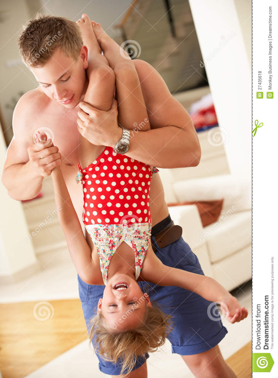Dad Doing His Daughter Upside Down: http://cumception.com/dad-doing-his-daughter-upside-down/