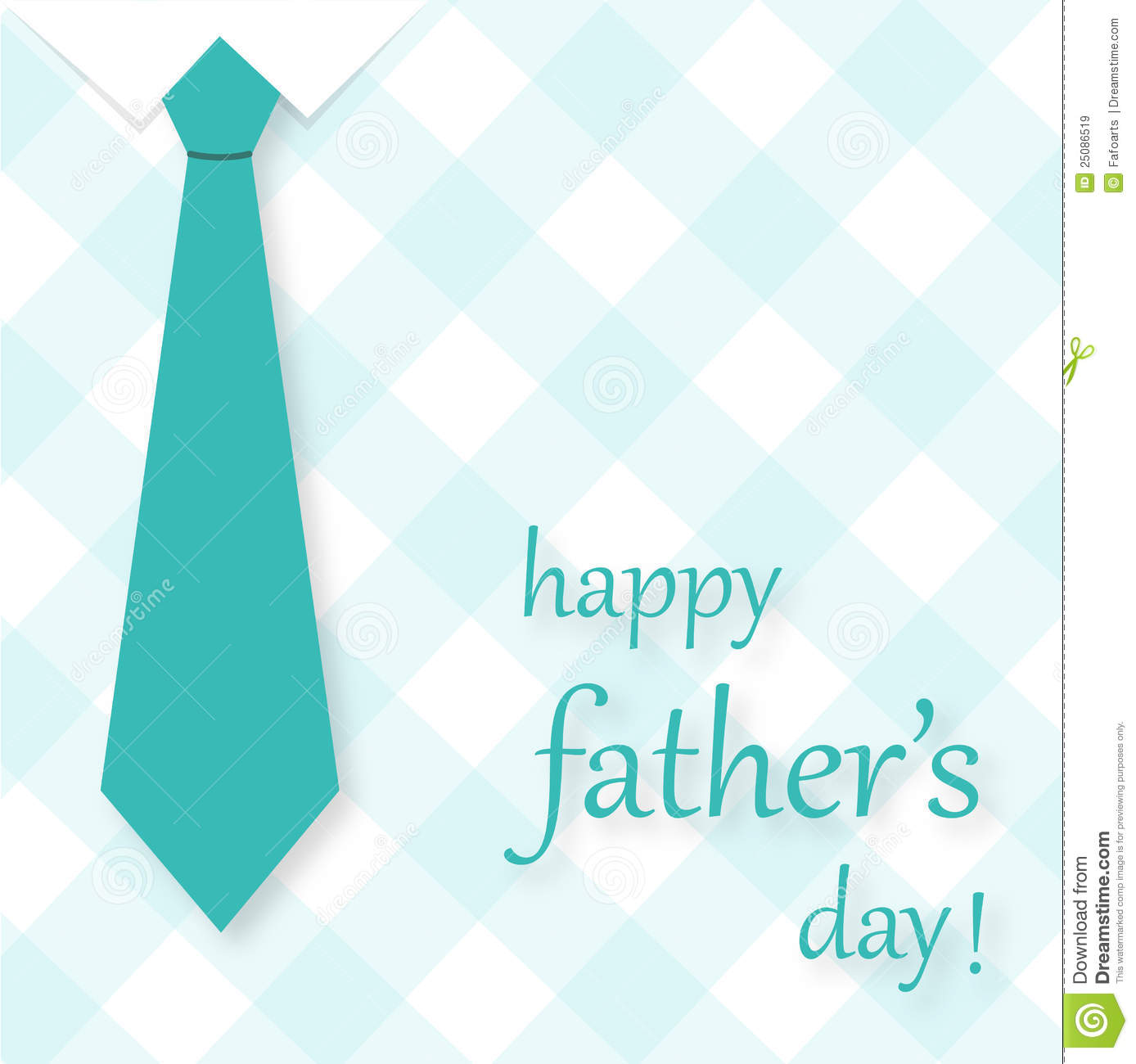 Lisa S Tool Time Father S Day Card: Father's Day Card Royalty Free Stock Images