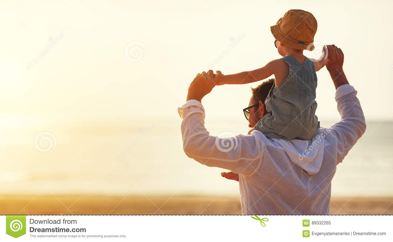 Download Father`s Day. Dad And Baby Son Playing Together Outdoors On A Su Stock Image - Image of casual, leisure: 89332265