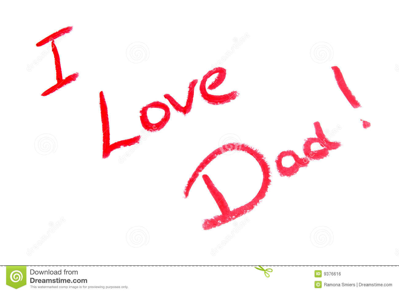 Father s day dad i love you card royalty free stock image image
