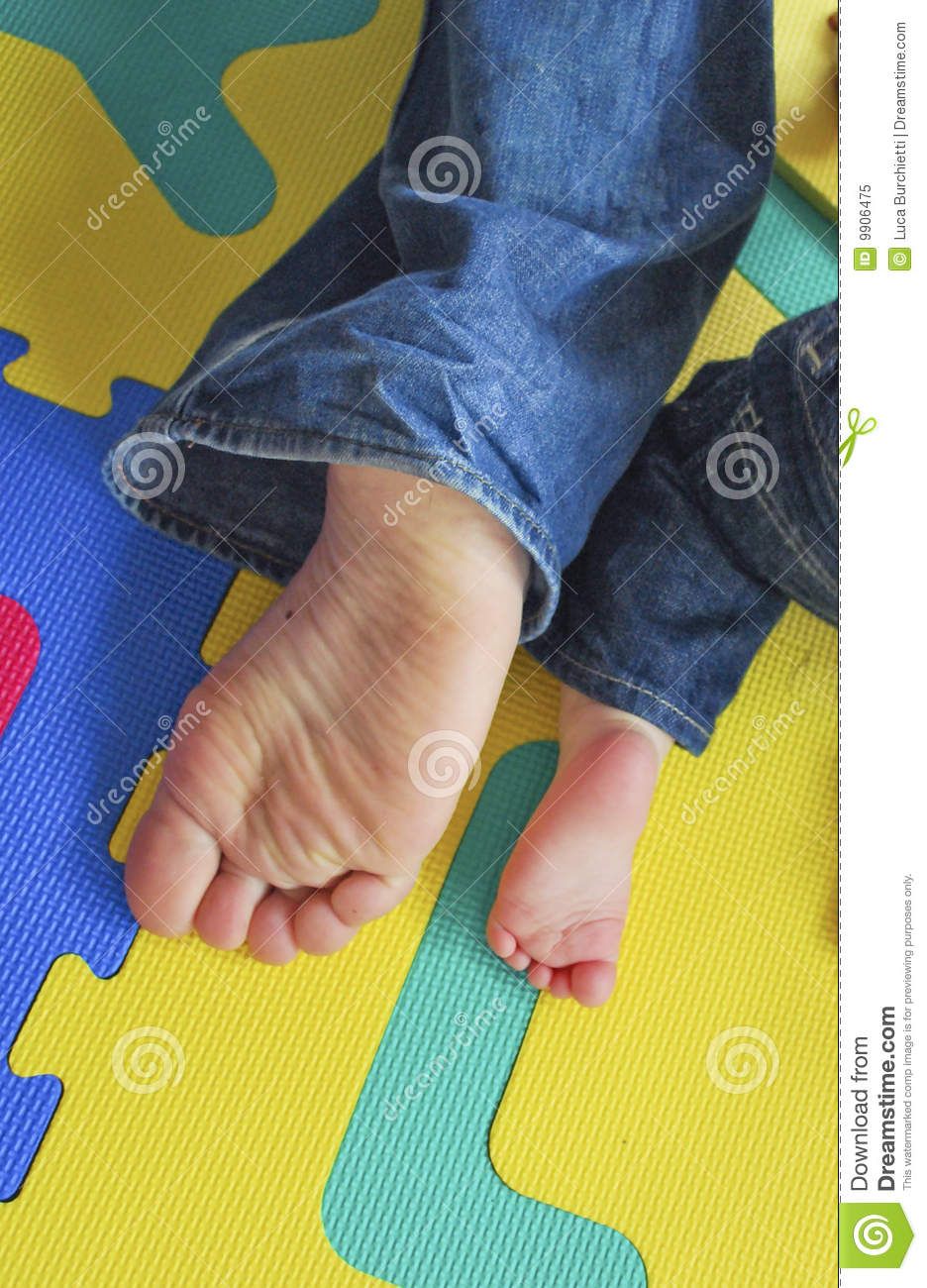 Father s and son s Feet