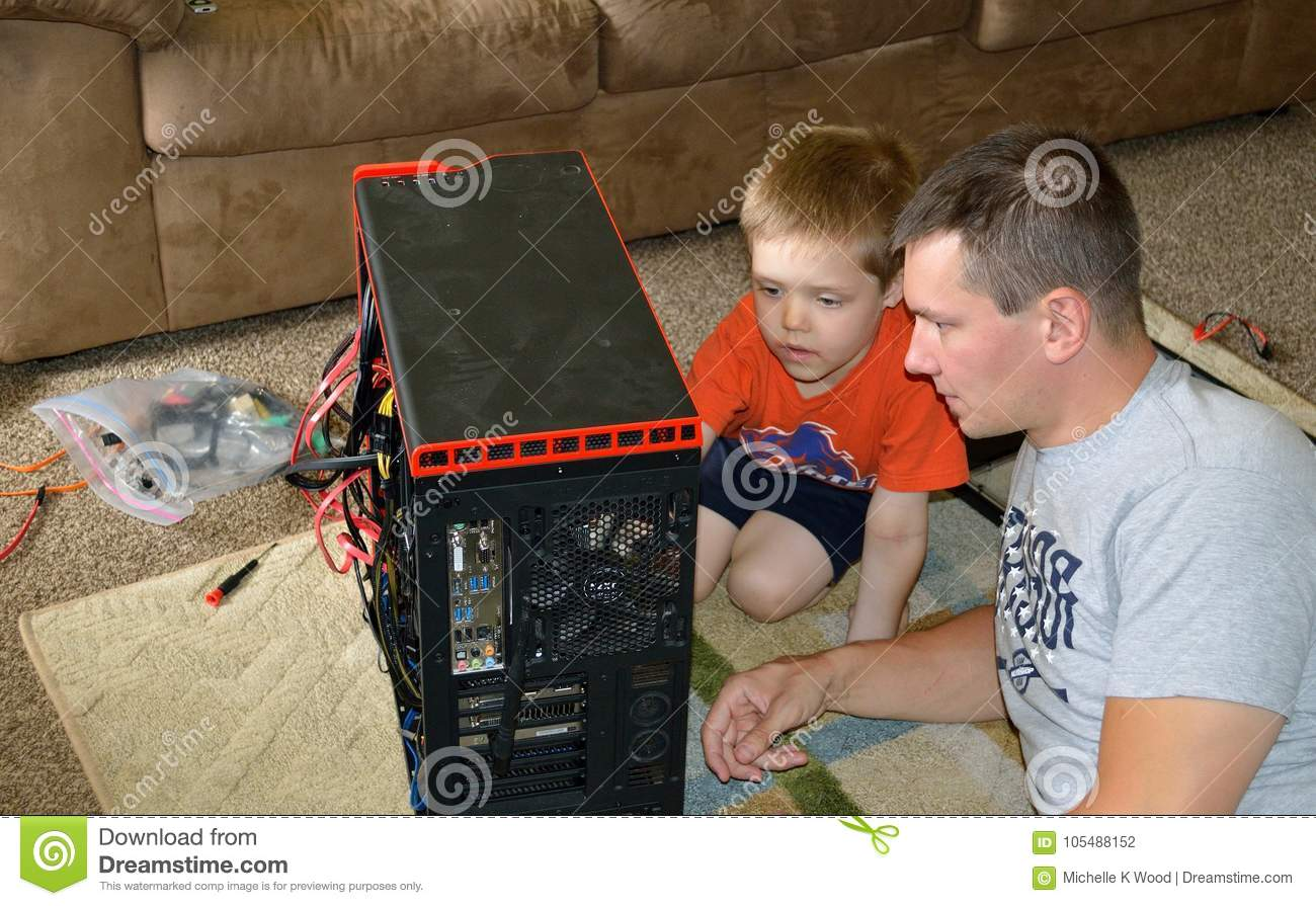 Father and Son Computer Repair