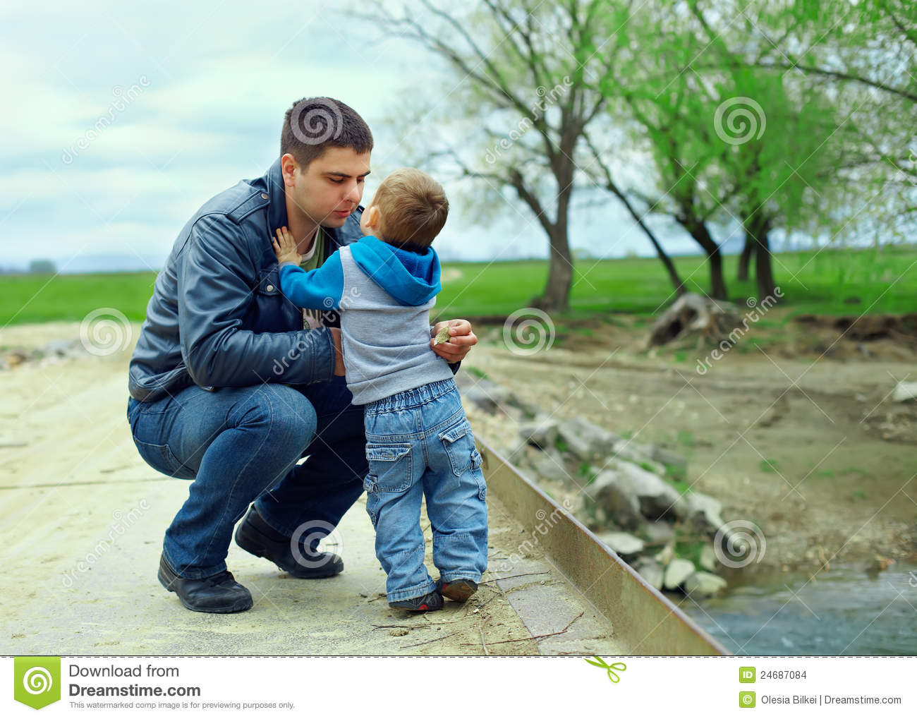 the sons relationship with father