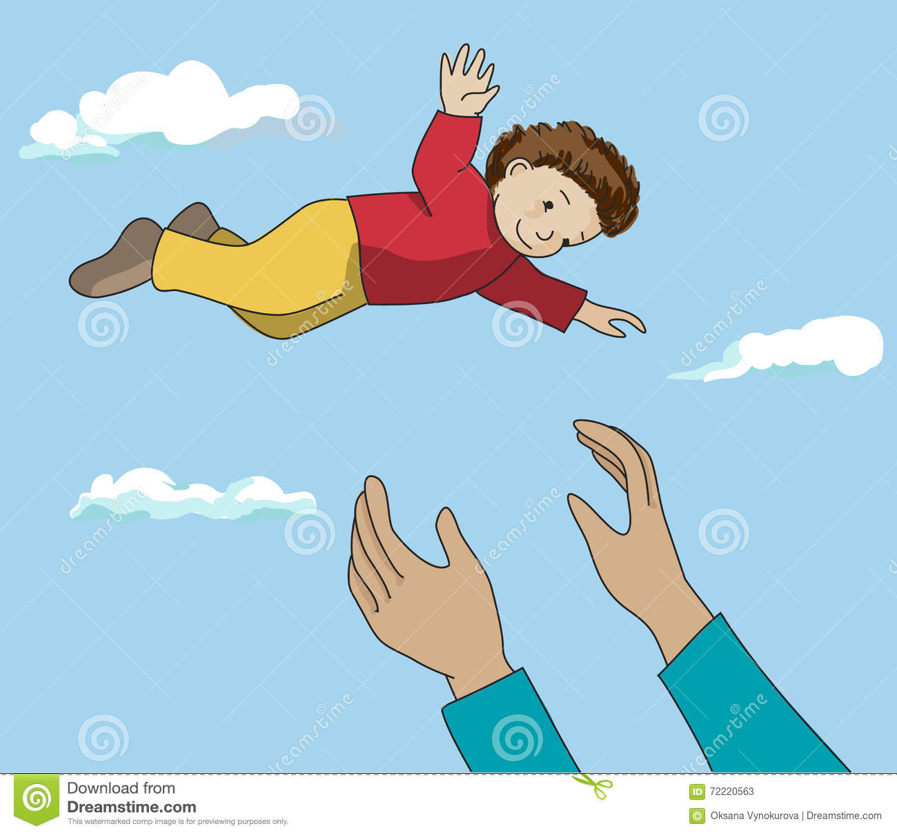Up in the Air Clip Art