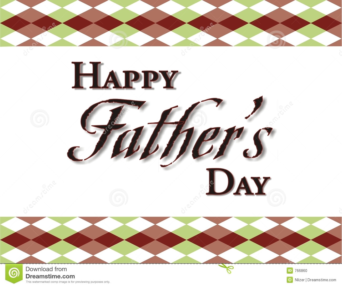 Fathers Day Background Frame