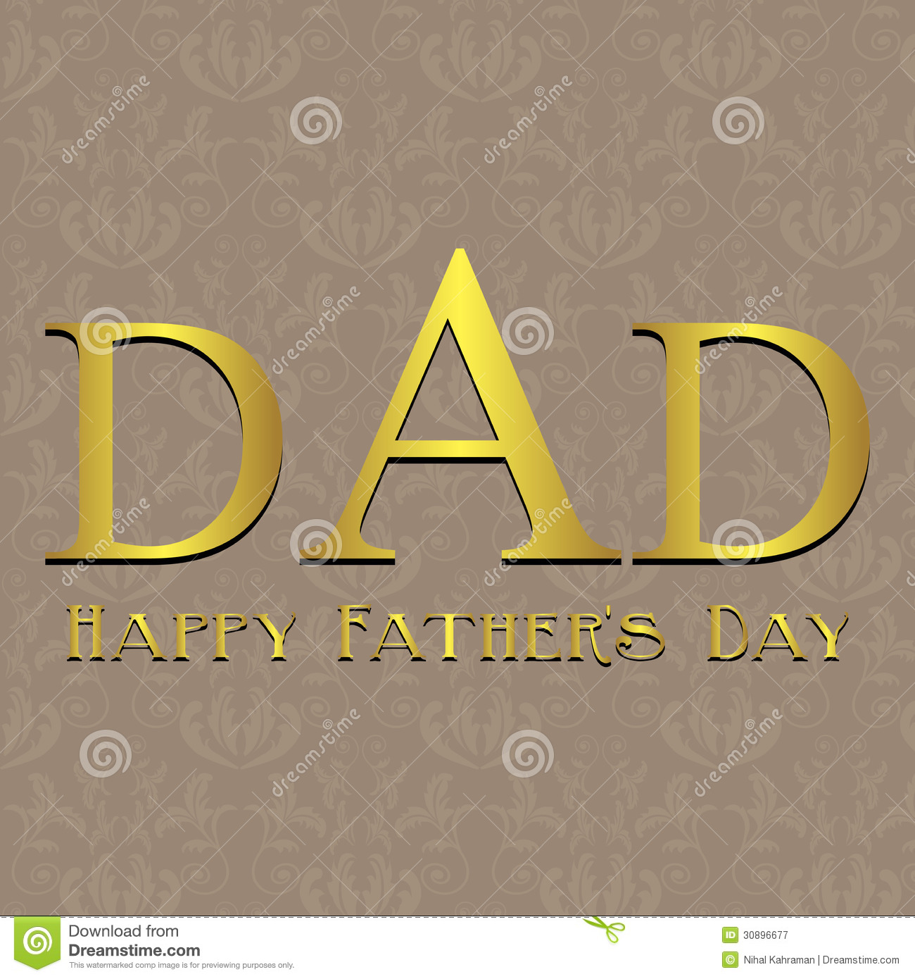 Fathers day card with blue black and white strip stock vector royalty free stock photo biocorpaavc Image collections