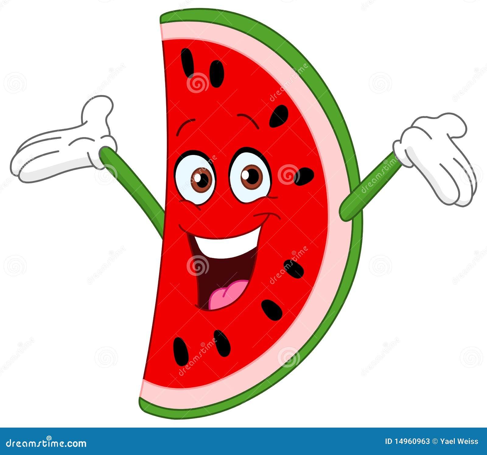 Fatia da melancia