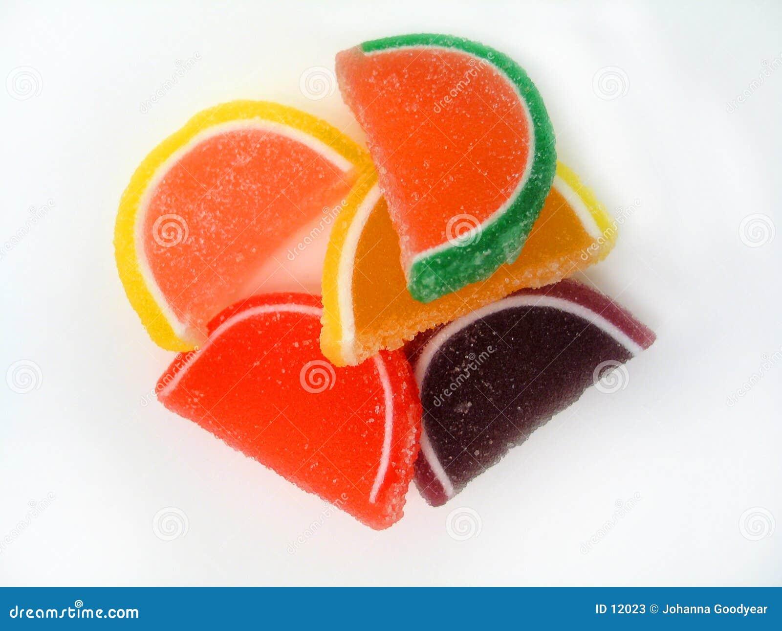 Fatias da fruta