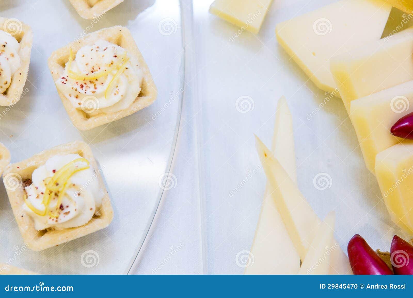 Aperitivo do queijo
