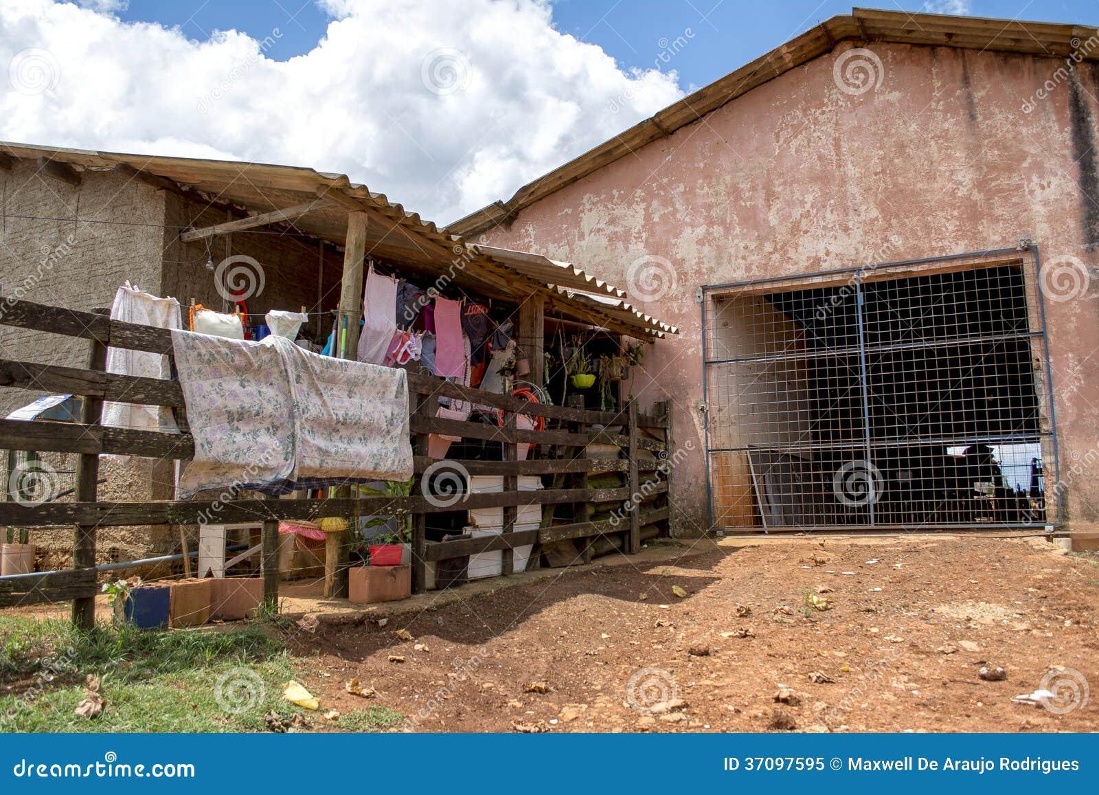 Fattigt hus