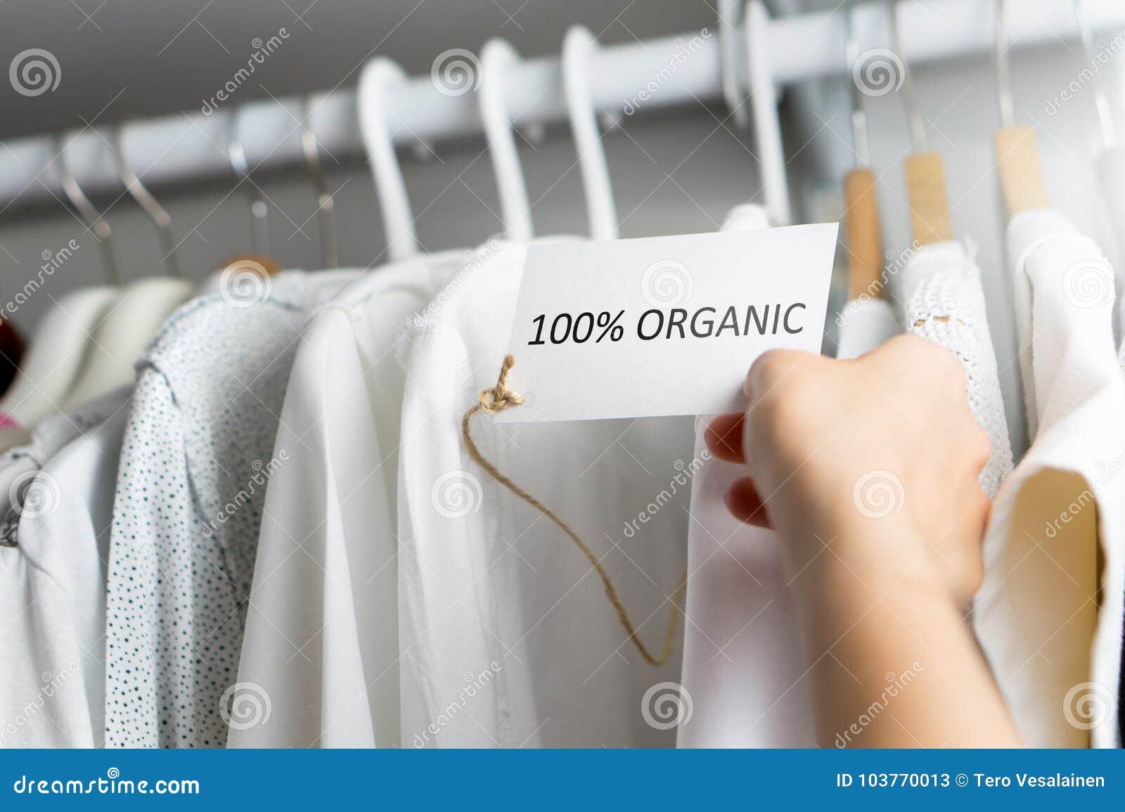 Fatto dei materiali organici di 100