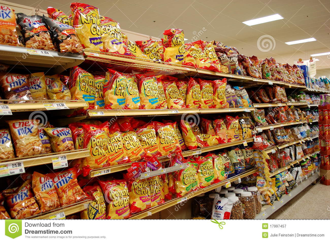 Fatty Snacks In The Supermarket Editorial Photography Image Of Snacks Fatty 17997457