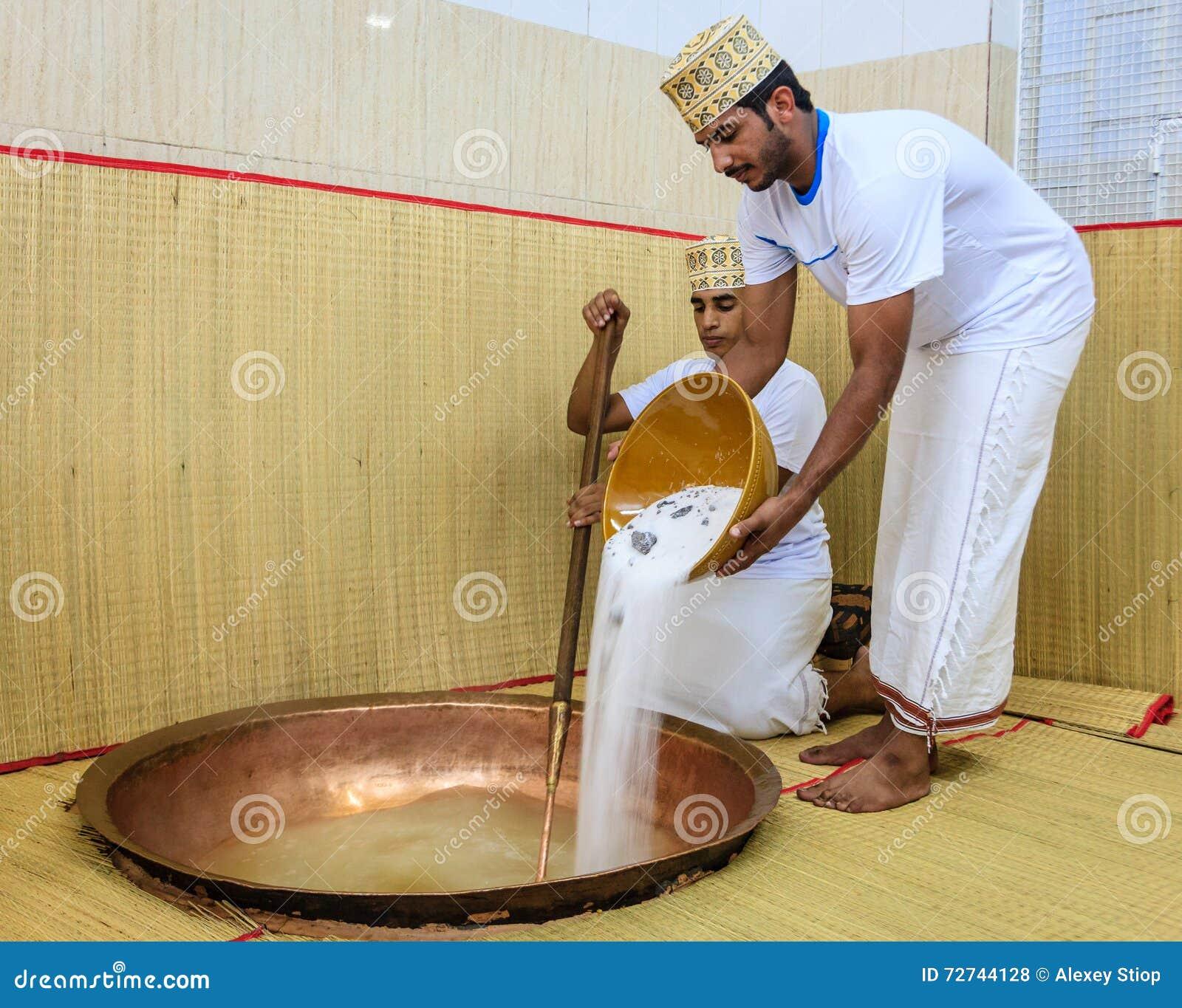 Fatura do halwa omanense