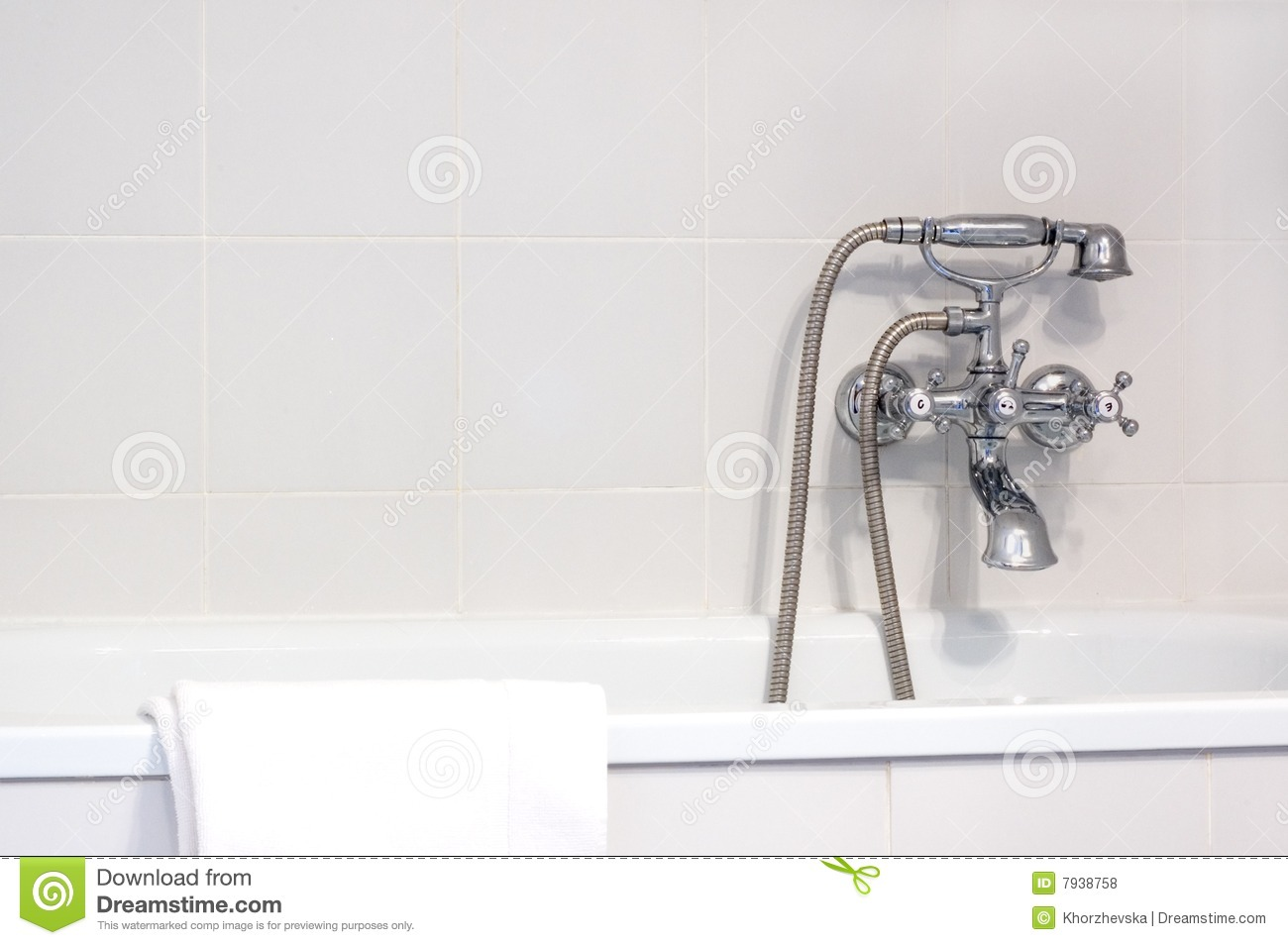 Faucet In Bathroom Royalty Free Stock Photos Image 7938758