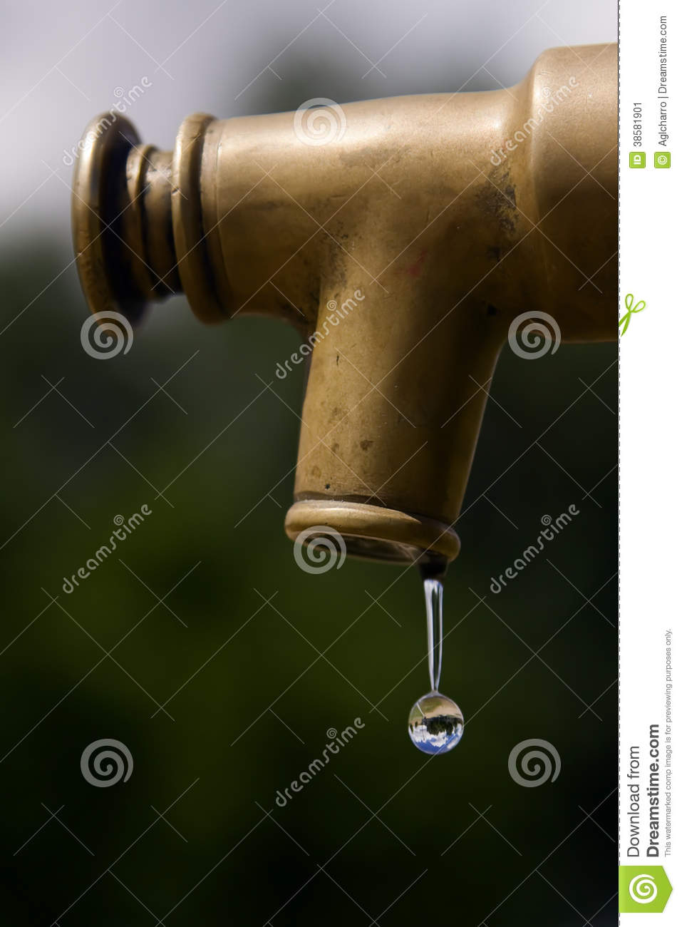 Faucet stock image. Image of column, pipe, metal, rusty - 38581901