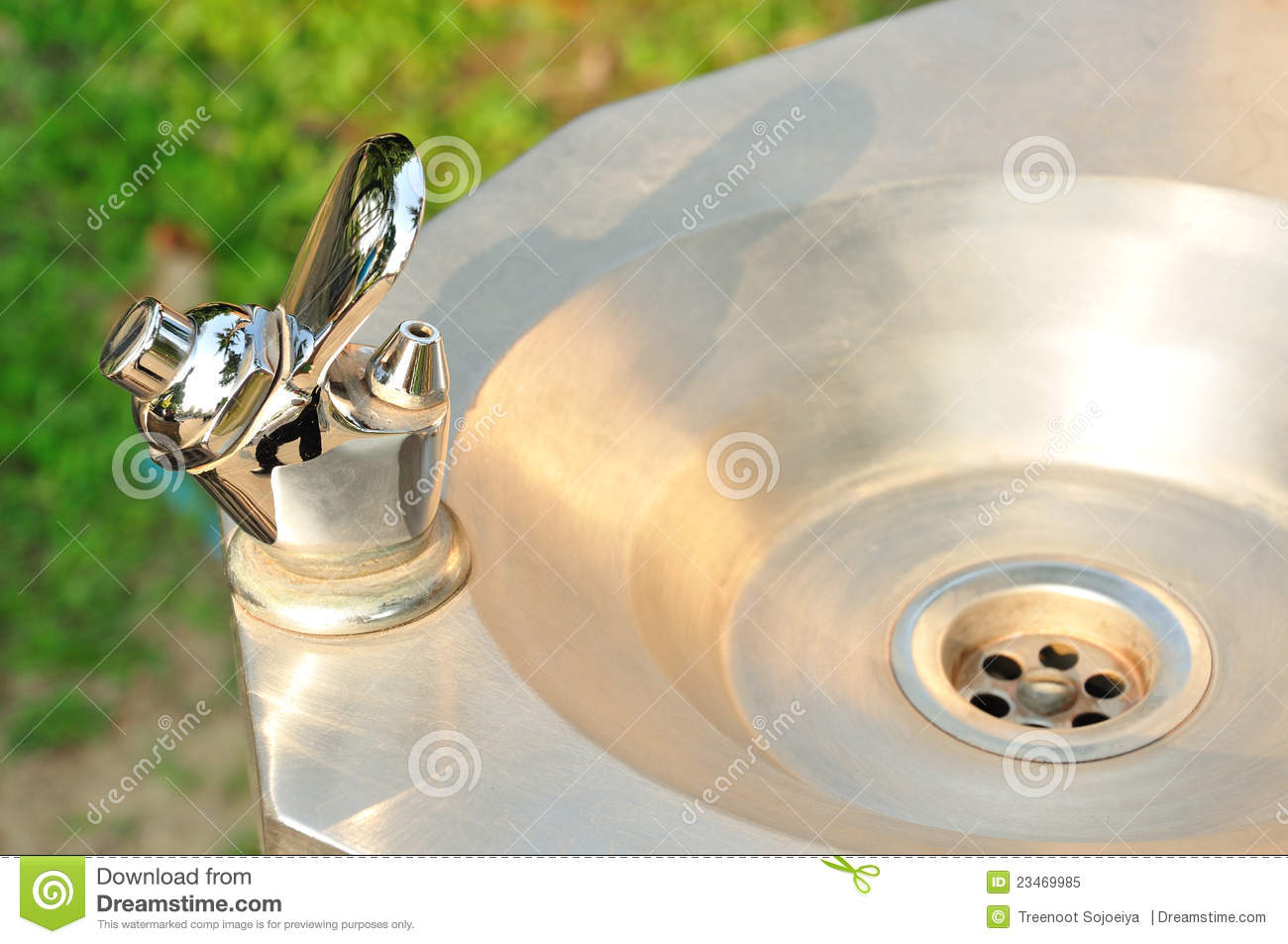 faucet water drinking fountain royalty free stock photo image