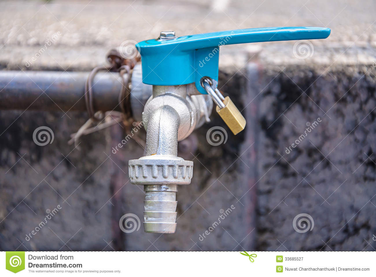Faucet water supply stock image. Image of metal, turn - 33685527