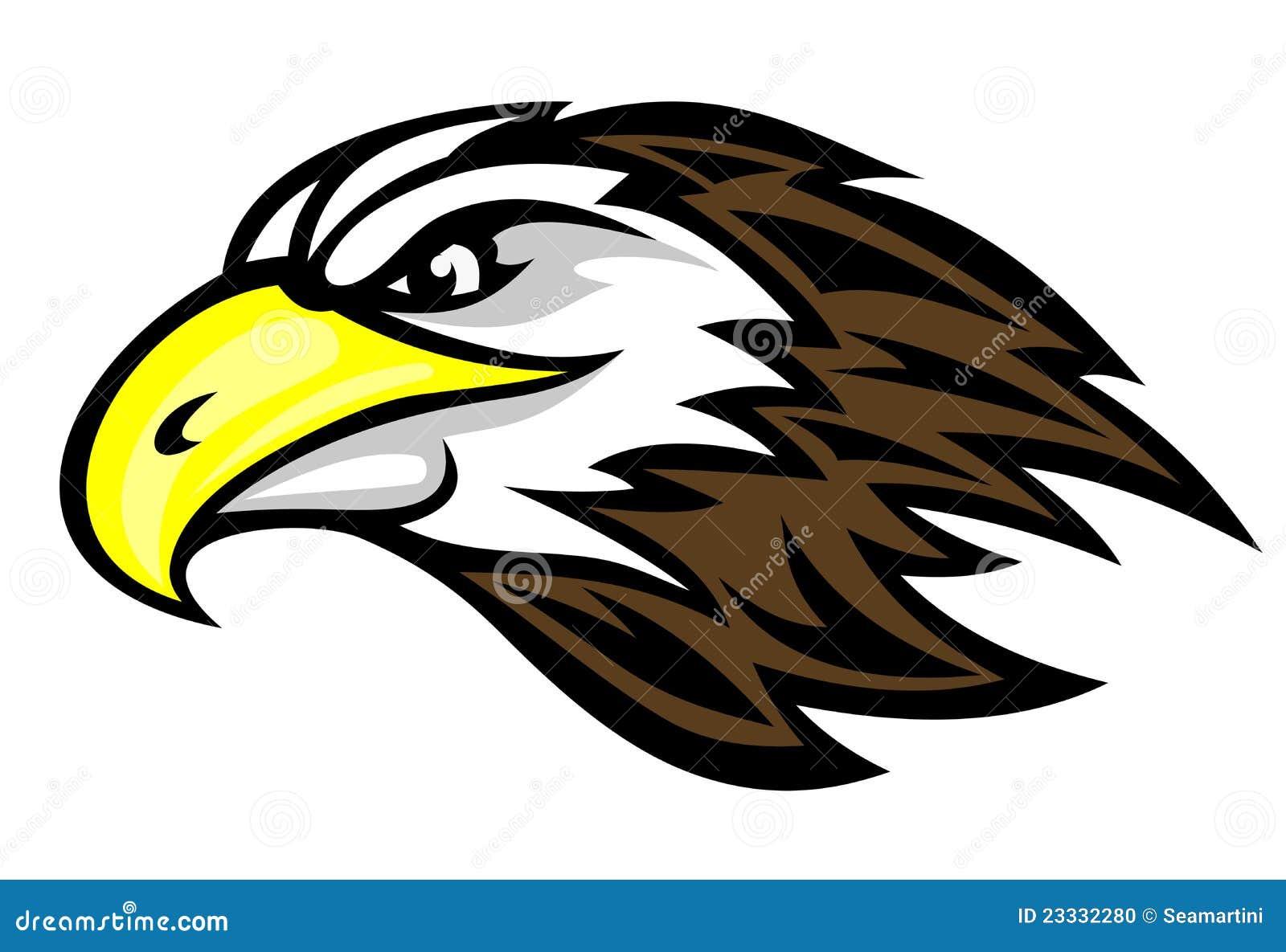 Faucon de dessin anim photo stock image 23332280 - Dessiner un faucon ...